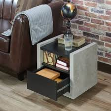 industrial nightstands u0026 bedside tables for less overstock com