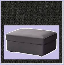 Kivik Ottoman Ikea Kivik Ottoman Cover New Dansbo Gray Footstool Addmates
