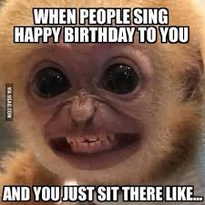 People Be Like Meme - when people sing happy birthday to you and you just sit there like