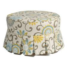 Hassocks Ottomans Hassock Ottoman In Custom Fabrics And Upholstered Nursery Gliders