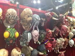 Halloween Monster Masks by More Coverage Of The 2013 Halloween Expo Blood Curdling Blog Of