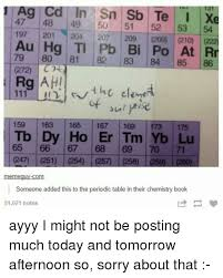 xe on the periodic table 25 best memes about periodic table periodic table memes