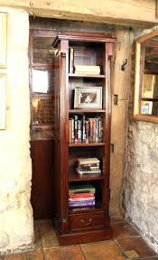 Bookcase Mahogany La Roque Mahogany Narrow Alcove Bookcase Imr01c
