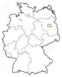 Germany Map by Germany Map Berlin Highlighted Stock Photo Picture And Royalty