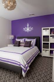 Yellow Feature Wall Bedroom Purple Accent Wall With Grey Ceiling Lights For Bedroom White