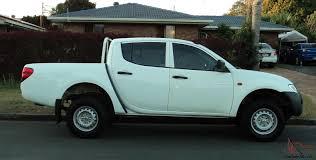 mitsubishi triton 2008 mitsubishi triton glx 2008 5spd turbo diesel dual cab ute in