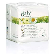naty nature womencare sanitary towels normal pack of 15 naty