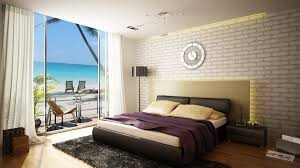 nice modern design of the bedroom ideas beach house that has white