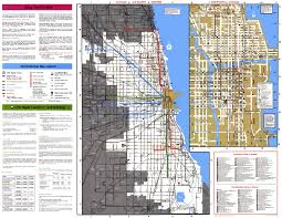 Chicago By Zip Code Map by Chicago U0027 U0027l U0027 U0027 Org System Maps Route Maps