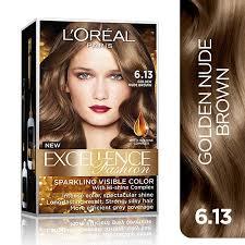 best hair dye brands 2015 loreal paris excellence fashion hair color 14g no 6 13 golden nude