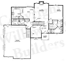 Blueprints For Houses With Basements - baby nursery 1 5 story house plans with walkout basement 1 5
