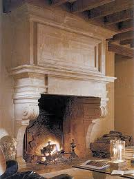 shabby chic white wooden fireplace mantel for rustic living room