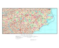 Road Map Of The Usa by Maps Of North Carolina State Collection Of Detailed Maps Of