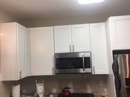 kitchen cabinet crown molding ideas kitchen cabinet crown molding make them fancy hometalk