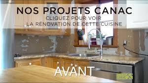 installer un comptoir de cuisine nos projets canac rénovation cuisine installation d un nouveau