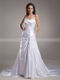 spaghetti wedding dress spaghetti straps elastic satin princess wedding dress with sequins