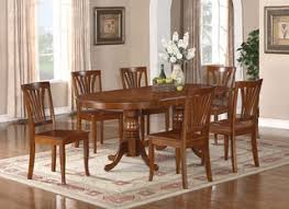 dining room table for 6 oval newton dining room set extension leaf table 6 chairs 42 inx78 in