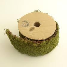 moss ribbon roll of green wired moss ribbon craft decor ribbon crafts