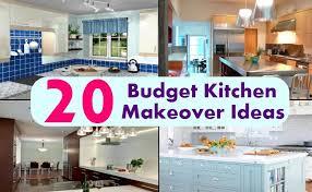 kitchen makeover ideas pictures 20 budget kitchen makeover ideas diy home creative