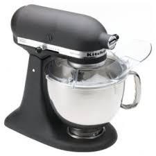 kitchenaid artisan stand mixer imperial black 5 quart