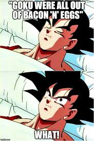 Base Meme - goku sleeping wake up meme generator imgflip