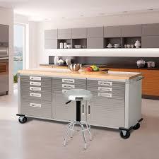 Kitchen Classics Cabinets by Amazon Com Seville Classics Ultrahd Rolling Workbench Home U0026 Kitchen
