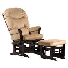Nursing Rocking Chairs Dutailier Modern Square Back Glider With Nursing Ottoman Multi