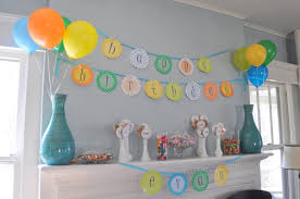 How To Decorate Birthday Party At Home by Evan U0027s Second Birthday Decorations Bebehblog