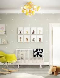 Yellow And Grey Nursery Decor Fresh And Light Nursery Rooms Interiors