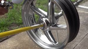 how to paint stock chrome rims black diy