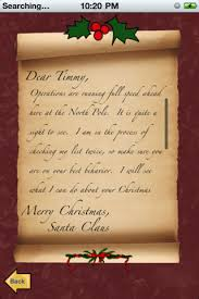 santa claus letters letters to santa claus free on the app store