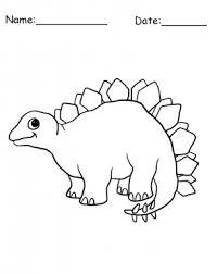 stegosaurus dinosaur coloring sheet free printable coloring