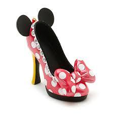 disney parks minnie mouse miniature shoe ornament