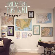 Gallery Map Wall