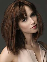 are bangs okay with medium short hair on 50 year old nice short bob haircuts with bangs short hairstyles 2016 2017
