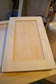 How To Build Shaker Cabinet Doors Adding Flat Trim To Existing Cabinet Doors Diy Pinterest
