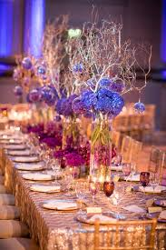 wedding linen wedding inspiration reception tables with pattern linens inside