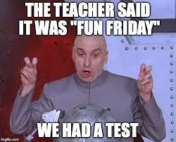 Test Meme - dr evil laser meme imgflip