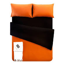 Orange King Size Duvet Covers Solid Burnt Orange Comforter The Orange Accent Wall With Teal And