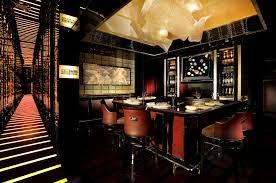 bar interior design almas caviar bar the ritz carlton hong kong