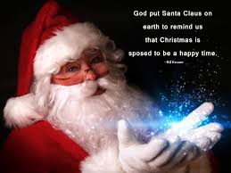 best santa quotes and sayings with santa images merry