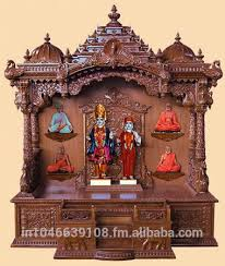 temple decoration ideas for home wooden home temple design home design ideas