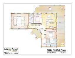 garage floor plans with workshop custom log home design murray arnott design