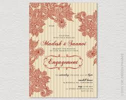 hindu engagement invitations hindu engagement invitation cards blackbird designs