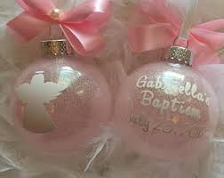 baptism christmas ornament baptism ornament etsy