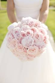 Sweet Light A Unique Domed Hand Tied Bouquet Of Light Pink Sweet Avalanche