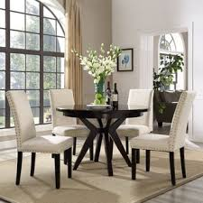 Dining Room Sets With Fabric Chairs by High Back Dining Room U0026 Kitchen Chairs Shop The Best Deals For