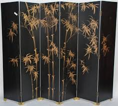 Accordion Room Dividers by Decorating Ideas Endearing Rectangular Black Chinese Room