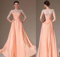 peach bridesmaid dresses for the rustic wedding theme wedding ideas