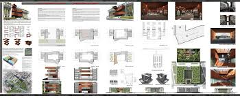 architectural layouts portfolio architektur pdf viewing gallery for architecture student